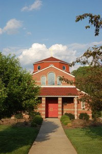 St. George Chapel of St. Michael Orthodox Church: designed by Architect Thomas Smith