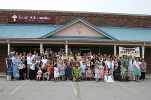 Parish Photo, Pentecost 2011 - Click to Enlarge