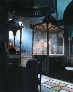 Altar Table, St. Katherine's Monastery, Mount Sinai.