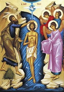 Icon of Christ's Baptism