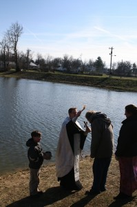Great Water Blessing 2012, Lake Mingo, Nicholasville
