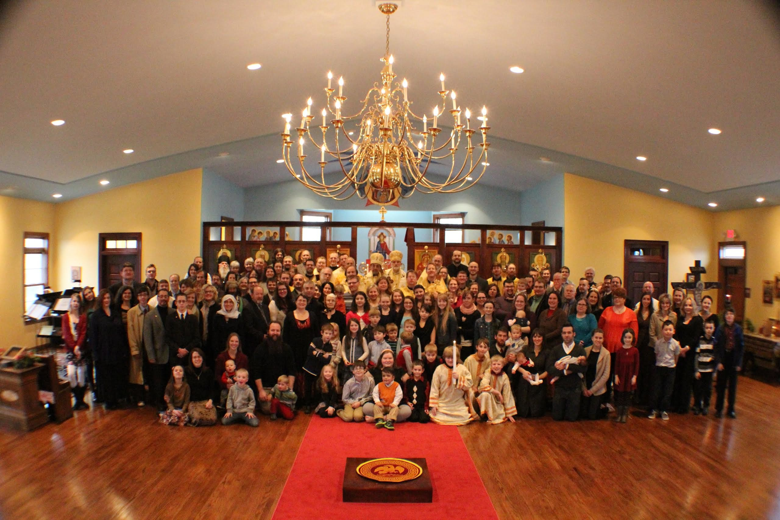 Parish Photo Dedication 2015
